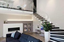 豪宅必备的旋转楼梯,原来可以这么美!