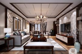 新中式装修客厅挂画有哪些讲究?