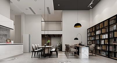 南京香鸢美墅288平新中式风格装修效果图