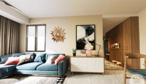 南京紫金-墨香苑87平现代北欧风格装修效果图