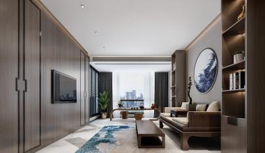 南京滟紫台现代简约装修效果图
