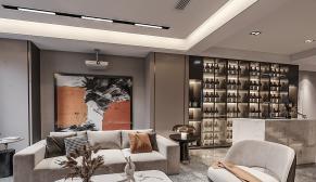 南京景枫你山380m²现代风格装修图