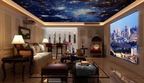 南京加州城300平欧式风格装修效果图