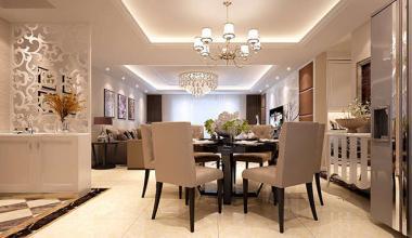 南京21世纪国际公寓140平现代简约风格装修效果图
